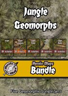 Heroic Maps - Jungle Geomorphs [BUNDLE]