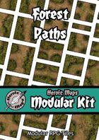 Heroic Maps - Modular Kit: Forest Paths