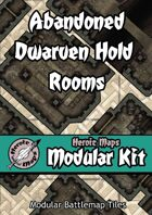 Heroic Maps - Modular Kit: Abandoned Dwarven Hold Rooms