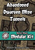 Heroic Maps - Modular Kit: Abandoned Dwarven Mine Tunnels