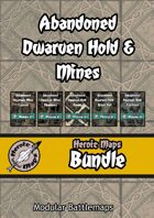 Heroic Maps - Abandoned Dwarven Hold & Mines [BUNDLE]