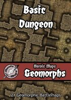 Heroic Maps - Geomorphs: Basic Dungeon