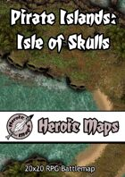 Heroic Maps - Pirate Islands: Isle of Skulls