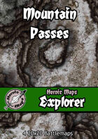 Heroic Maps - Explorer: Mountain Passes