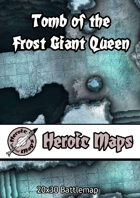 Heroic Maps - Tomb of the Frost Giant Queen