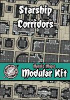 Heroic Maps - Modular Kit: Starship Corridors