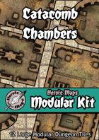 Heroic Maps - Modular Kit: Catacomb Chambers