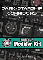 Heroic Maps - Modular Kit: Dark Starship Corridors