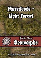 Heroic Maps - Geomorphs: Hinterlands Light Forest