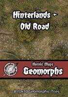 Heroic Maps - Geomorphs: Hinterlands Old Road