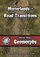 Heroic Maps - Geomorphs: Hinterlands Road Transitions