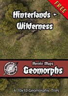 Heroic Maps - Geomorphs: Hinterlands Wilderness
