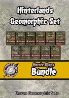 Heroic Maps - Hinterlands Geomorphic Set [BUNDLE]