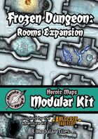 Heroic Maps - Modular Kit: Frozen Dungeon Rooms Expansion