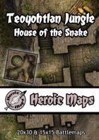 Heroic Maps - Teoyohtlan Jungle: House of the Snake