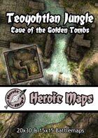 Heroic Maps - Teoyohtlan Jungle: Cave of the Golden Tombs