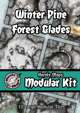 Heroic Maps - Modular Kit: Winter Pine Forest Glades