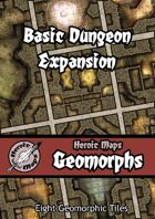 Heroic Maps - Geomorphs: Basic Dungeon Expansion