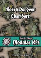Heroic Maps - Modular Kit: Mossy Dungeon Chambers