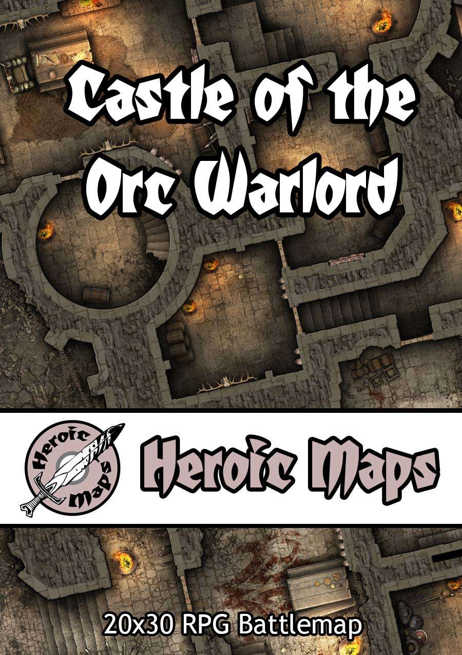 Heroic Maps - Castle of the Orc Warlord