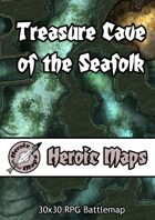 Heroic Maps - The Treasure Cave of the Seafolk
