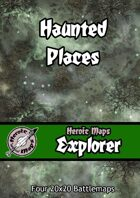 Heroic Maps - Explorer: Haunted Places