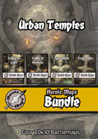 Heroic Maps - Urban Temples [BUNDLE]