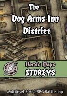 Heroic Maps - Storeys: The Dog Arms Inn District