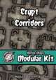 Heroic Maps - Modular Kit: Crypt Corridors