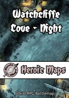 Heroic Maps - Watchcliffe Cove Night