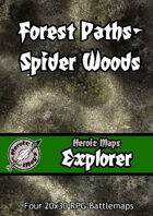 Heroic Maps - Explorer: Forest Paths Spider Woods