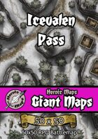 Heroic Maps - Giant Maps: Icevalen Pass