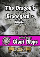 Heroic Maps - Giant Maps: The Dragon's Graveyard - Winter