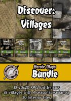 Heroic Maps - Discover: Villages [BUNDLE]