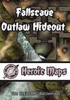 Heroic Maps - Fallscave Outlaw Hideout