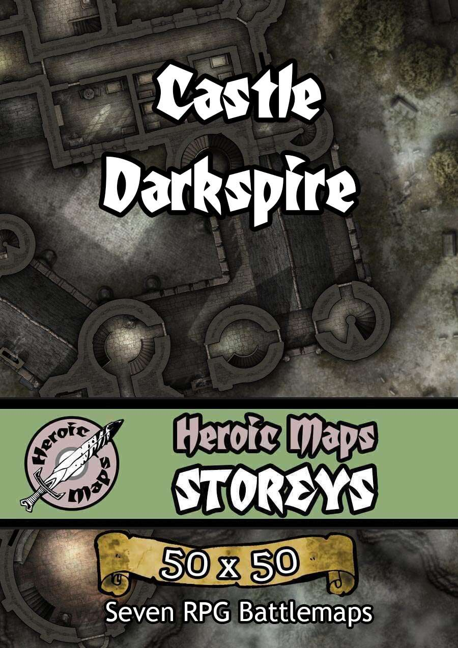 Heroic Maps - Storeys: Castle Darkspire