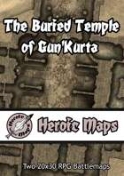 Heroic Maps - The Buried Temple of Gun'Kurta