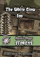 Heroic Maps - Storeys: The White Crow Inn