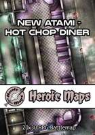 Heroic Maps - New Atami Hot Chop Diner