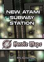 Heroic Maps - New Atami Subway Station