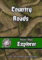 Heroic Maps - Explorer: Country Roads