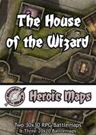Heroic Maps - The House of the Wizard
