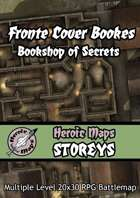 Heroic Maps - Storeys: Fronte Cover Books - Bookshop of Secrets
