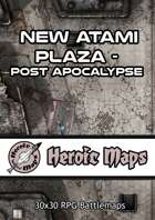 Heroic Maps - New Atami Plaza Post Apocalypse