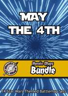 Heroic Maps - May the 4th [BUNDLE] , from $83.89 to $19.99 at DriveThruRPG