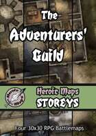 Heroic Maps - Storeys: The Adventurers' Guild
