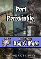 Heroic Maps - Day & Night: Port Periwinkle