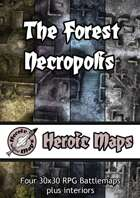 Heroic Maps - The Forest Necropolis