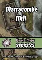 Heroic Maps - Storeys: Marracombe Mill