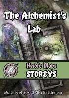 Heroic Maps - Storeys: The Alchemist's Lab